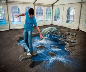 Выставка 3D-картин в Петербурге